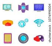 online invitation icons set....