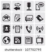 communication set   Shutterstock .eps vector #107702795