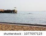 sea and beach | Shutterstock . vector #1077057125