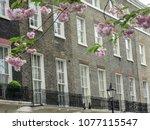 Row Of Luxury London Town...