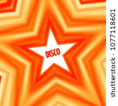 disco star background   Shutterstock .eps vector #1077118601