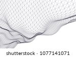 architectural drawing 3d  | Shutterstock .eps vector #1077141071