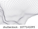 architectural drawing 3d  | Shutterstock .eps vector #1077141095
