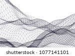 architectural drawing 3d  | Shutterstock .eps vector #1077141101