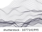 architectural drawing 3d | Shutterstock .eps vector #1077141995