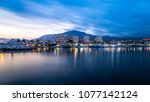 long exposure of estepona port... | Shutterstock . vector #1077142124