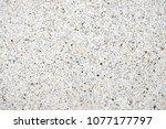 terrazzo polished stone floor... | Shutterstock . vector #1077177797