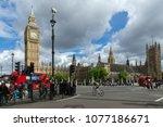 london  england   june 16 2016  ...   Shutterstock . vector #1077186671