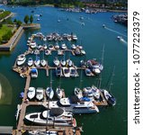 Small photo of VANCOUVER BC CANADA 06 10 2015: Vancouver Harbour Marina offers annual tenants a superior range of yachting amenities and services along with ready access to the beautiful Salish Sea