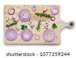 Sliced Red Onion With Spices...
