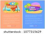 best discount 35  percent off... | Shutterstock .eps vector #1077315629