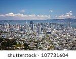 san francisco downtown view... | Shutterstock . vector #107731604
