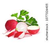 fresh  nutritious  tasty red...   Shutterstock .eps vector #1077326405