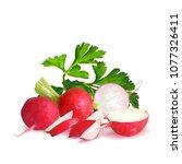 fresh  nutritious  tasty red...   Shutterstock .eps vector #1077326411