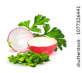 fresh  nutritious  tasty red...   Shutterstock .eps vector #1077326441