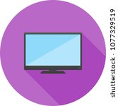 lcd screen icon | Shutterstock .eps vector #1077329519