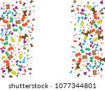 abstract background for summer... | Shutterstock .eps vector #1077344801