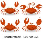 Red Crabs Characters ...