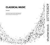 classical music festival poster ...   Shutterstock . vector #1077352829