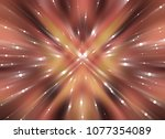 abstract orange background... | Shutterstock . vector #1077354089