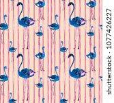 watercolor seamless pattern... | Shutterstock . vector #1077426227
