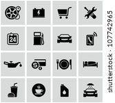 auto icons | Shutterstock .eps vector #107742965