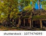 siem reap  cambodia 06.07.2017...   Shutterstock . vector #1077474095