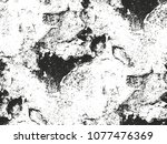 distressed overlay texture of... | Shutterstock .eps vector #1077476369