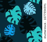beautiful seamless pattern with ...   Shutterstock .eps vector #1077554591