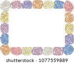 different freehand drawn... | Shutterstock .eps vector #1077559889