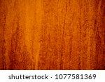 brown canvas grunge background... | Shutterstock . vector #1077581369