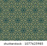 set of seamless texture of... | Shutterstock .eps vector #1077625985