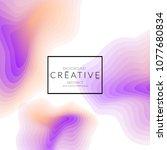 minimal cover banner template....   Shutterstock .eps vector #1077680834