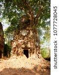 most south sanctuary prasat...   Shutterstock . vector #1077728045