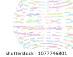 made up from words sphere or... | Shutterstock . vector #1077746801