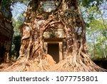 most south sanctuary prasat...   Shutterstock . vector #1077755801