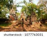 most south sanctuary prasat...   Shutterstock . vector #1077763031