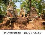 most south sanctuary prasat...   Shutterstock . vector #1077772169