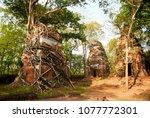most south sanctuary prasat...   Shutterstock . vector #1077772301