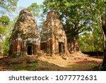most south sanctuary prasat...   Shutterstock . vector #1077772631