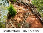 most south sanctuary prasat...   Shutterstock . vector #1077775229