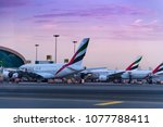 dubai  united arab emirates  ... | Shutterstock . vector #1077788411