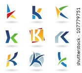 illustration of abstract icons...   Shutterstock . vector #107779751