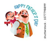 Greeting Card To Happy Father'...