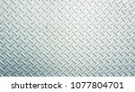 gray metal wall texture... | Shutterstock . vector #1077804701