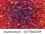 creative illustration in... | Shutterstock .eps vector #1077866249