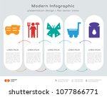infographics design vector and  ... | Shutterstock .eps vector #1077866771