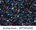 creative illustration in... | Shutterstock .eps vector #1077876989