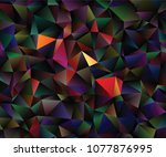 creative illustration in... | Shutterstock .eps vector #1077876995