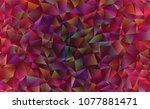 creative illustration in... | Shutterstock .eps vector #1077881471